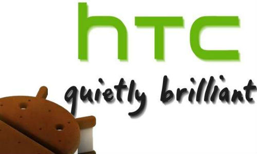 ICS roll out schedule for HTC smartphones