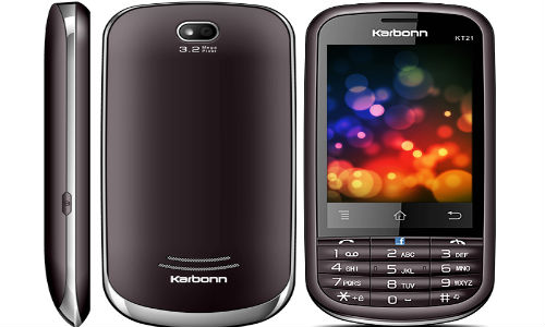 Karbonn KT-21 Express phone for Rs 4,500