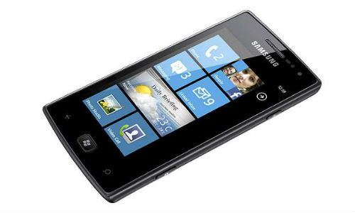 Leaked: Samsung's 4G Windows Phone device