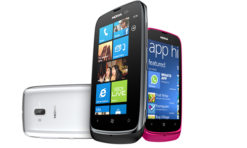 Lumia 610 won't support Skype, Angry Birds