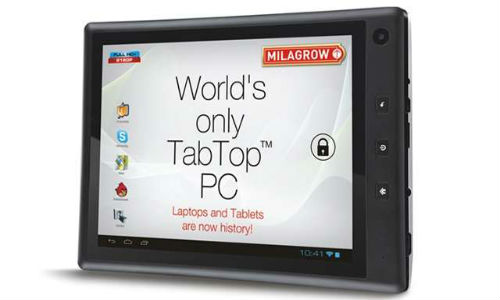 Milagrow launches TabTop 7.4 at Rs 10,990