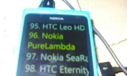 Nokia PureLamda, a WP 8.0 Apollo phone pops up