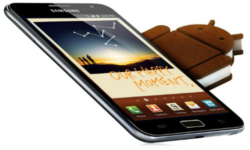 Samsung Galaxy Note gets ICS update