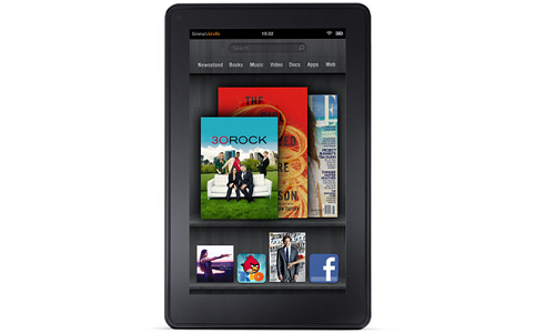 Amazon Kindle Fire gets software updates