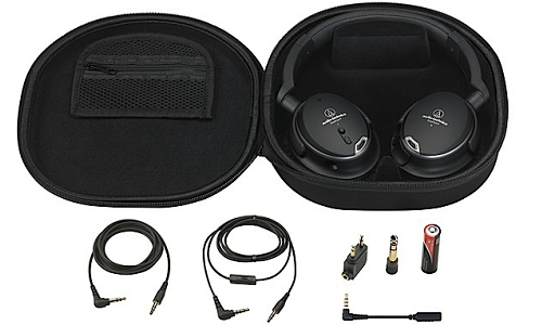 ATH-ANC9 noise-cancelling headphone from Audio Technica