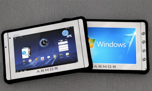 DRS launches Windows and Android tablets