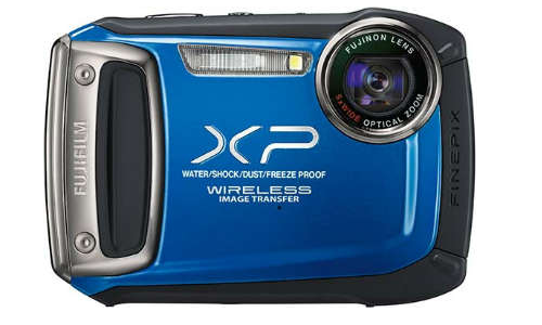 Wireless FinePix FP170, a waterproof digital camera from Fujifilm