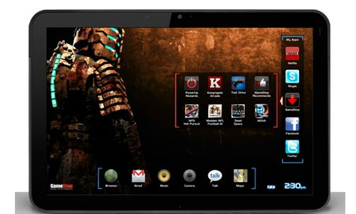 Gamestop sells popular android tablets with free games