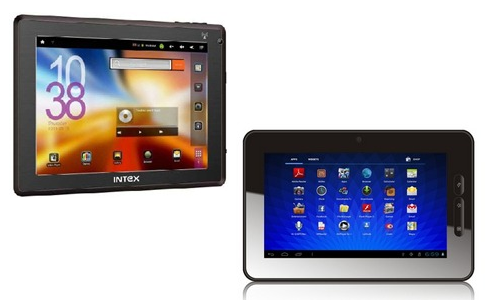 Comparison Low budget tablets Intex iTab and Micromax Funbook