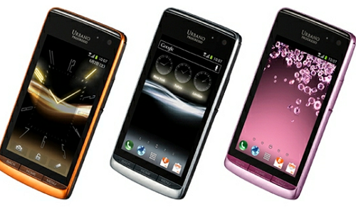 Kyocera Urbano Progresso a speakerless Android ICS phone