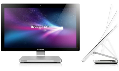 Lenovo IdeaCentre A720 Ultraslim, All in One Desktop with smart display