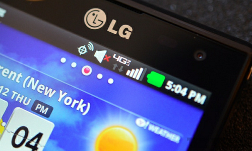 LG Superphone Cayenne 4G LTE model preview