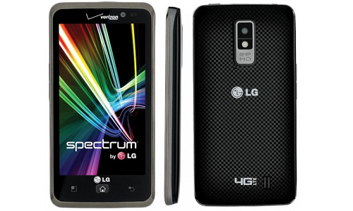 LG Spectrum to have software update