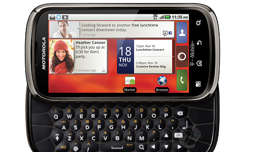 Motorola Cliq2 gets official Android 2.3 update