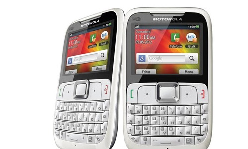 Motogo, a candy bar QWERTY phone from Motorola