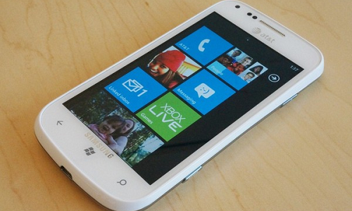 Samsung Focus 2, a windows 4G LTE phone