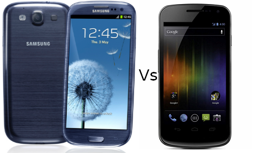 Comparison of Samsung Galaxy S3 and Samsung Galaxy Nexus
