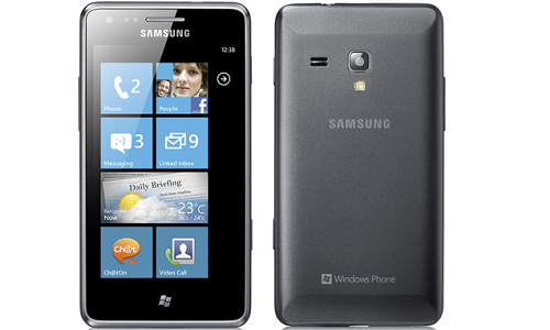 Samsung Omnia M: Full specifications