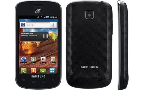 Samsung Galaxy Proclaim pops out