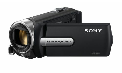 Sony SX15 black camcorder review