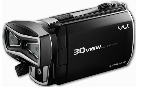 Capture 3D photos and videos in HD with Vu 3D HD camera