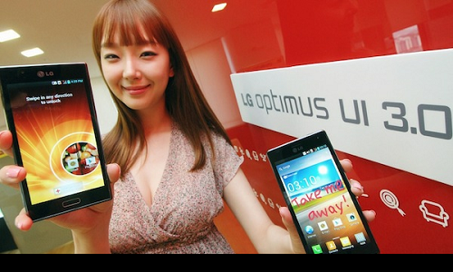 LG ICS phones to get a new user interface