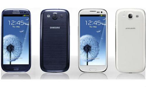 Finally! Pebble Blue Samsung Galaxy S3 arrives