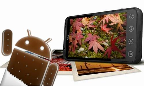 HTC Evo 3D smartphones gets Android ICS update