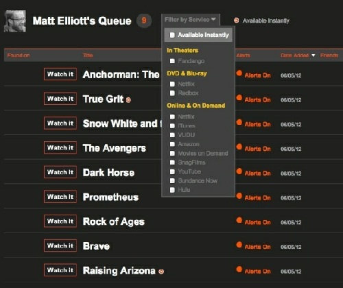 How to keep track of your favourite movies?