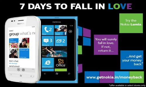 Nokia offers 7 day money back offer in India