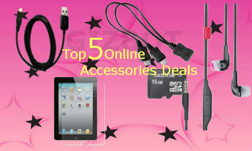 Top 5 online mobile accessories deals below Rs 500