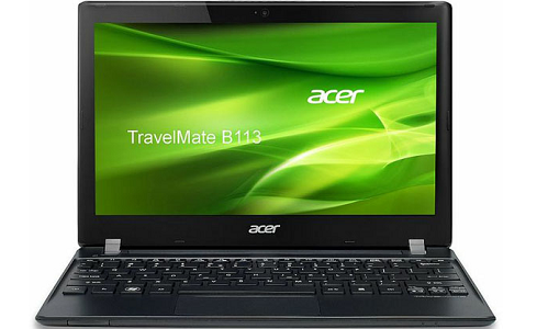 Acer TravelMate B113, 11.6 inch Netbook with Sandy Bridge