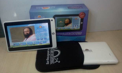 Enlighten tablet with Art of Living content available in India