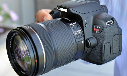 Canon Rebel T4i CMOS sensor camera review