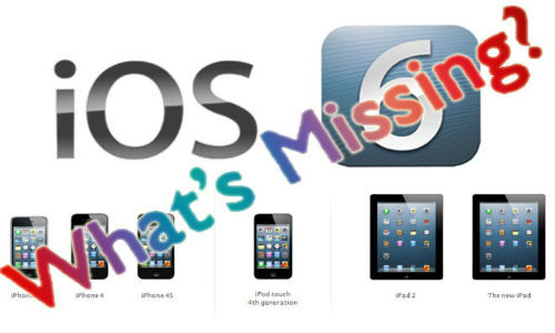 iOS 6 features that will work on older iPhone and iPad