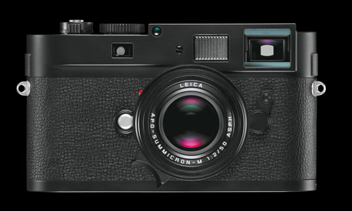 Leica M-Monochrom camera for black and white photography