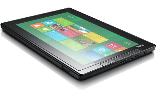 Lenovo's featuring Windows 8 tablet preview