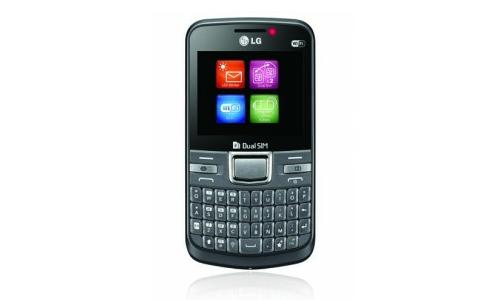 LG C199, a dual SIM QWERTY phone