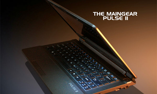 Ultraportable Pulse 11 gaming laptop from Maingear
