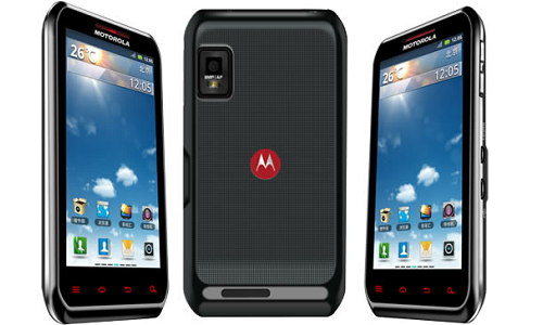 Motorola XT760 Android smartphone preview