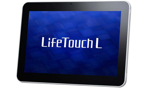 NEC Lifetouch L Android ICS tablet Preview