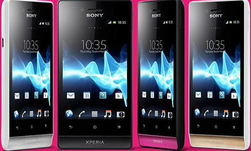 Sony launches Android ICS Xperia Miro smartphone