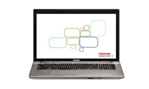 Toshiba Satellite P875 laptop powered by Ivy bridge processor