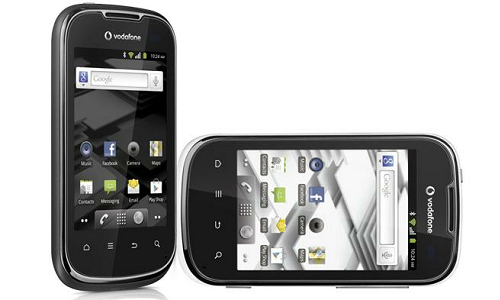 Solid but small, Vodafone Smart II Android phone