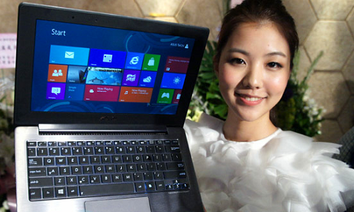 Asus unveils a notebook cum tablet, 2-in-1 hybrid Taichi