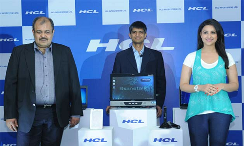 New HCL desktops and laptops available in India