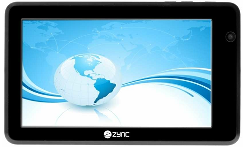 Zync Z990 Plus: An Android ICS Tablet Rs 6,500