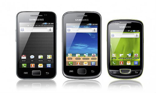 Samsung smartphones price in India