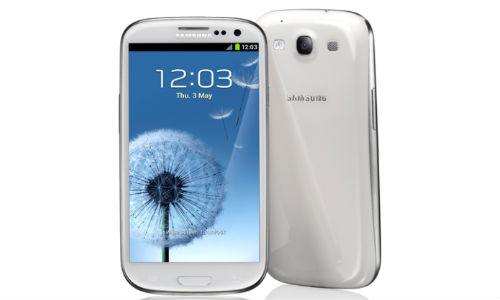 Build issues in white Samsung Galaxy S3