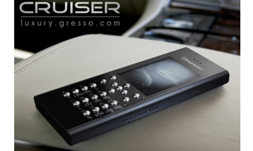 Cruiser Air Black, a Premium phone from Gresso